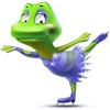 Figure Skating Frog