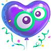 Camfrog Birthday Balloon