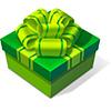 Green Birthday Box