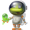Outer Space Frog