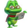 Airmail Frog